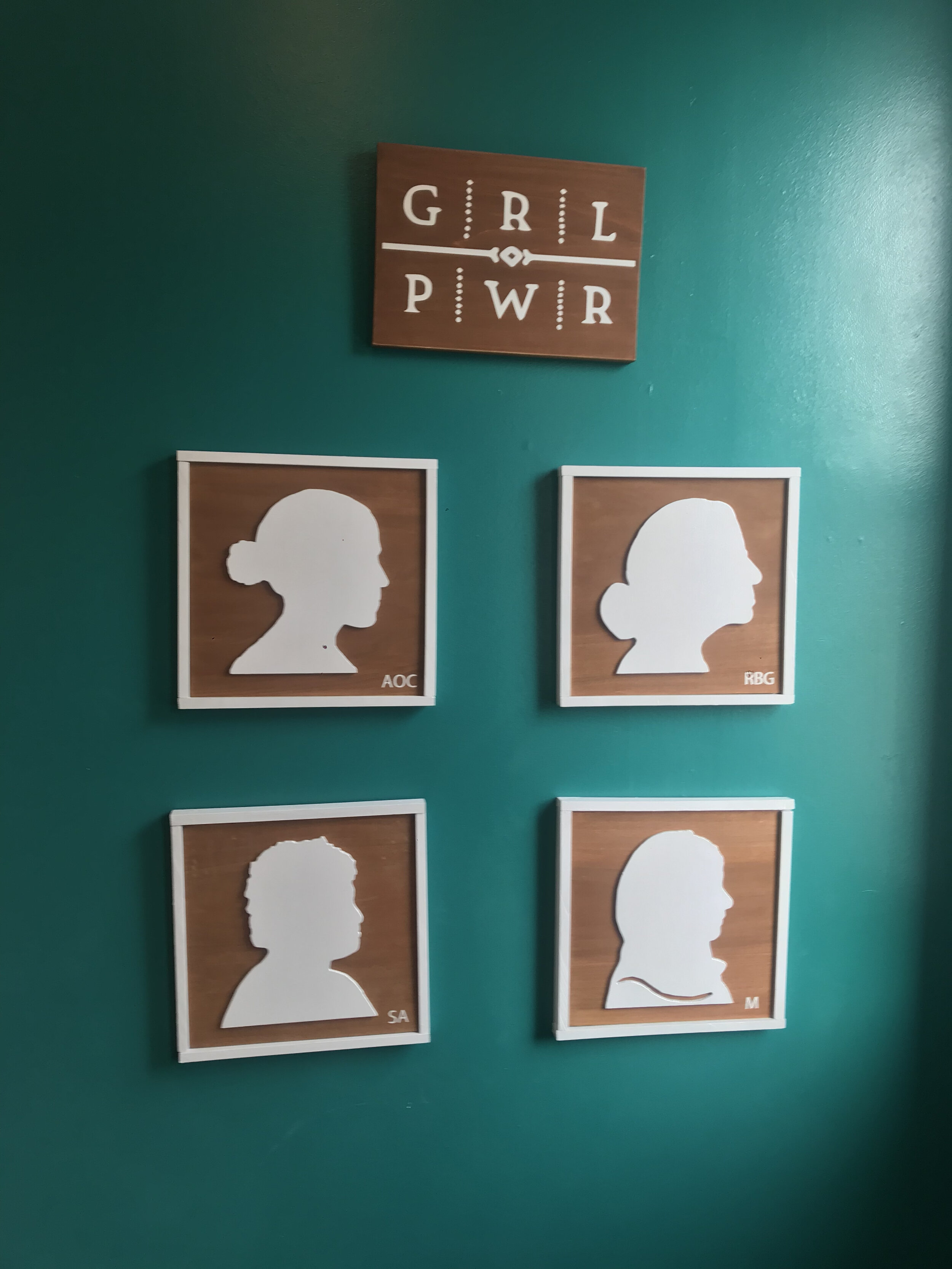 Girl Power Statement Gallery Wall