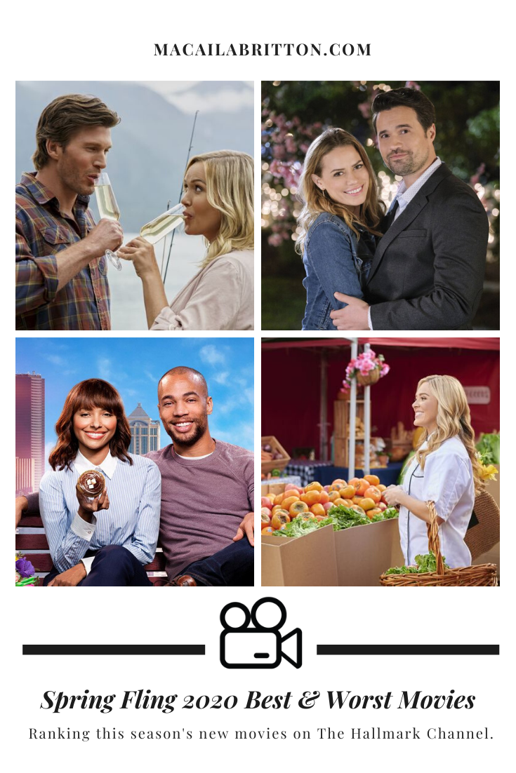 The Hallmark Channel Spring Fling 2020 Movies Ranked From Best to Worst