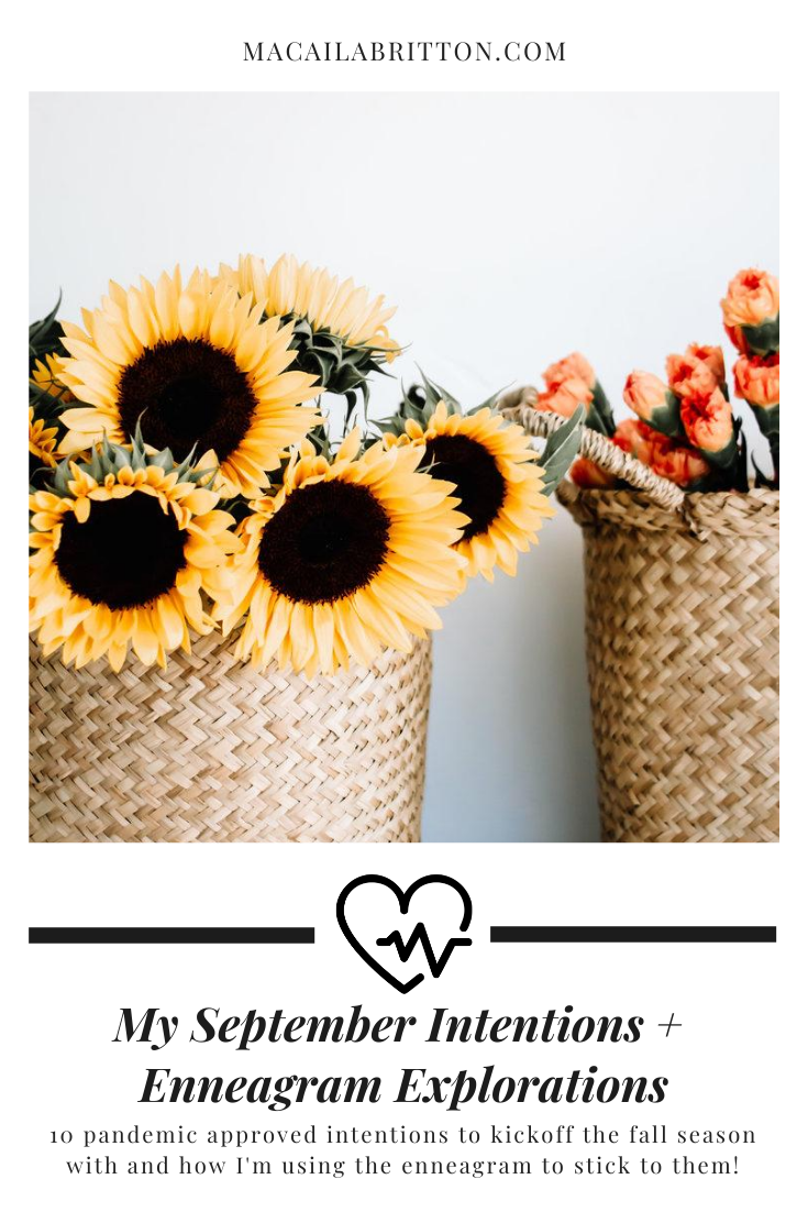 September intentions and goals for autumn that are safe to do in the pandemic