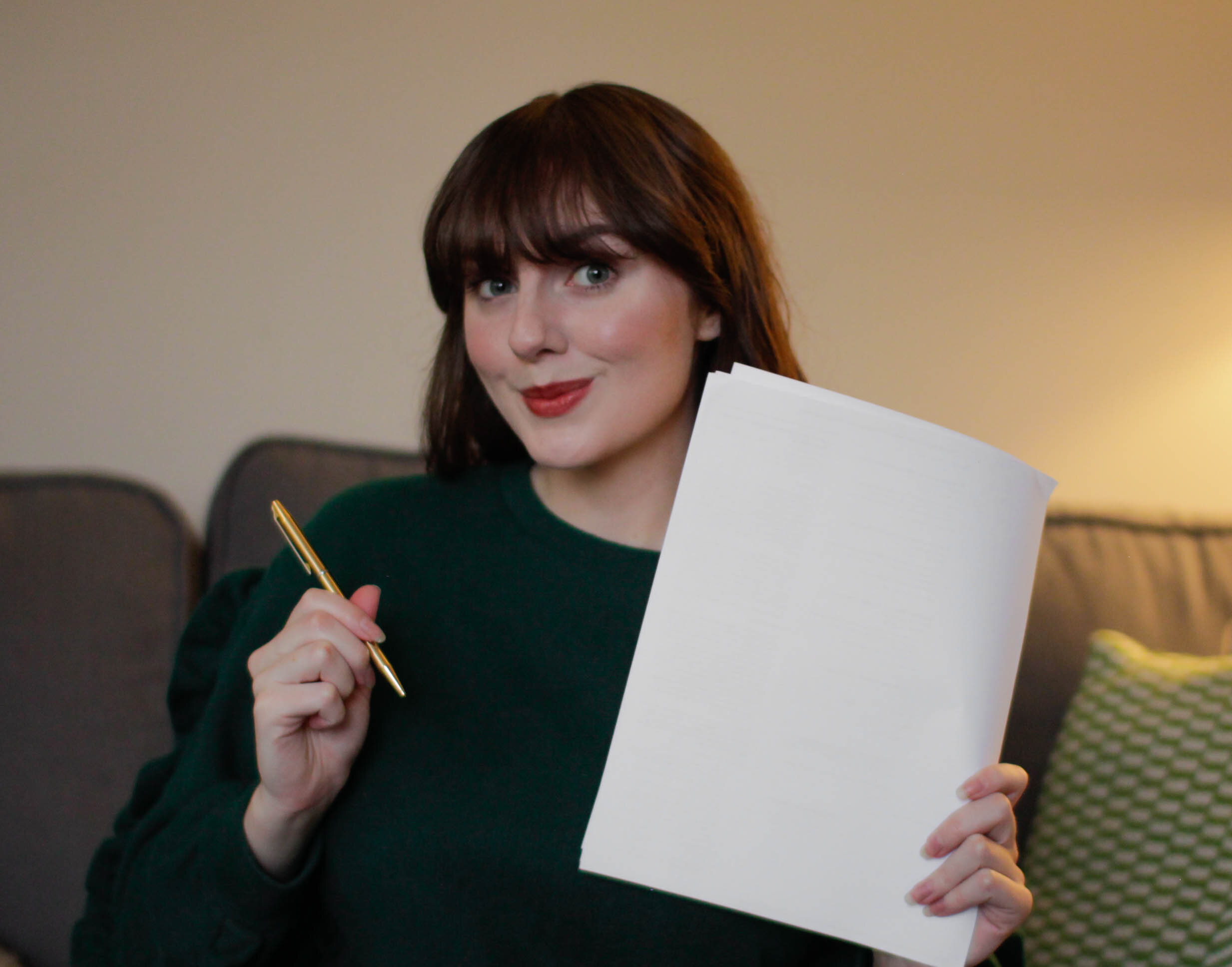 I Signed With A Literary Agency!
