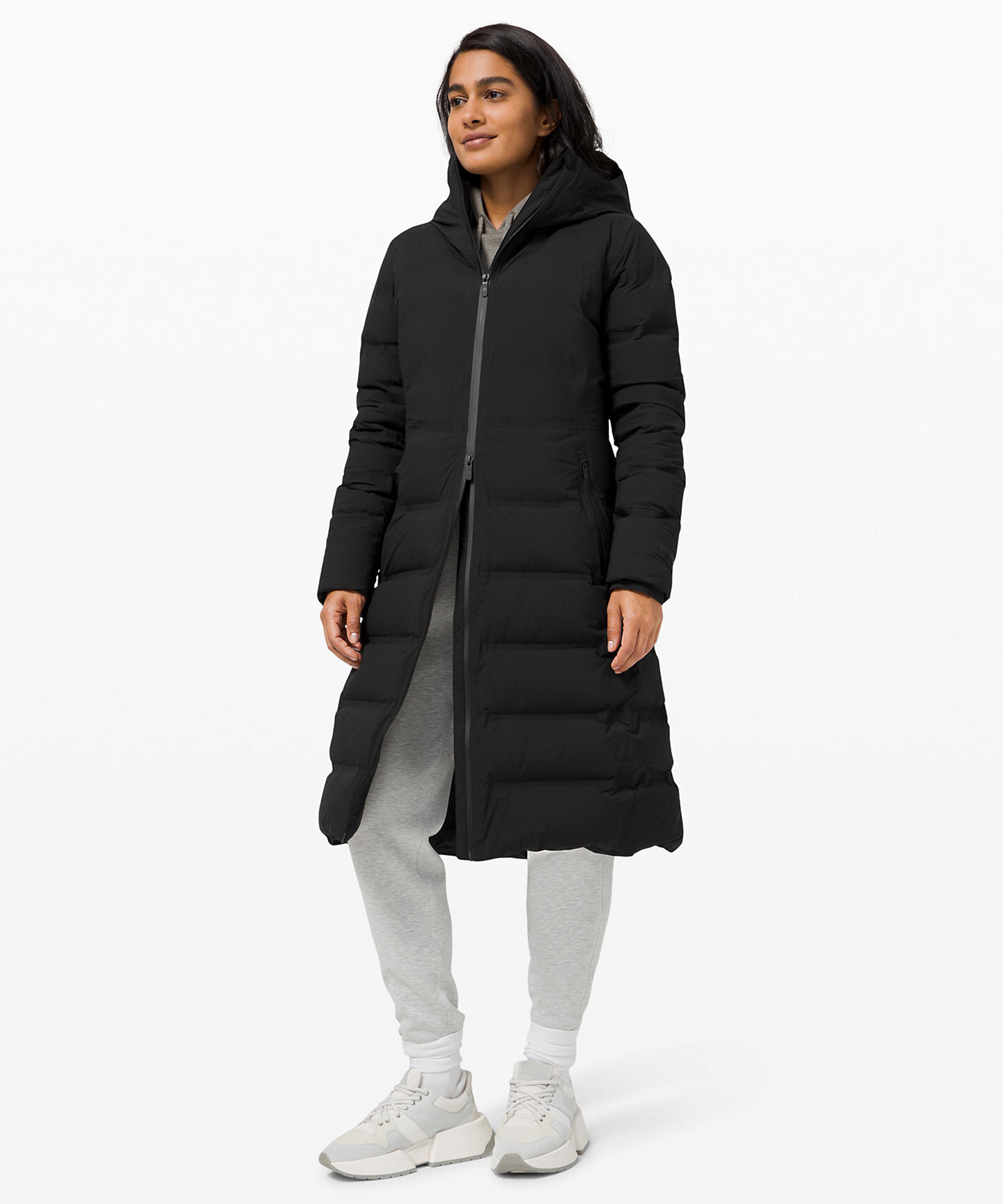 lululemon full length women's warm winter coat