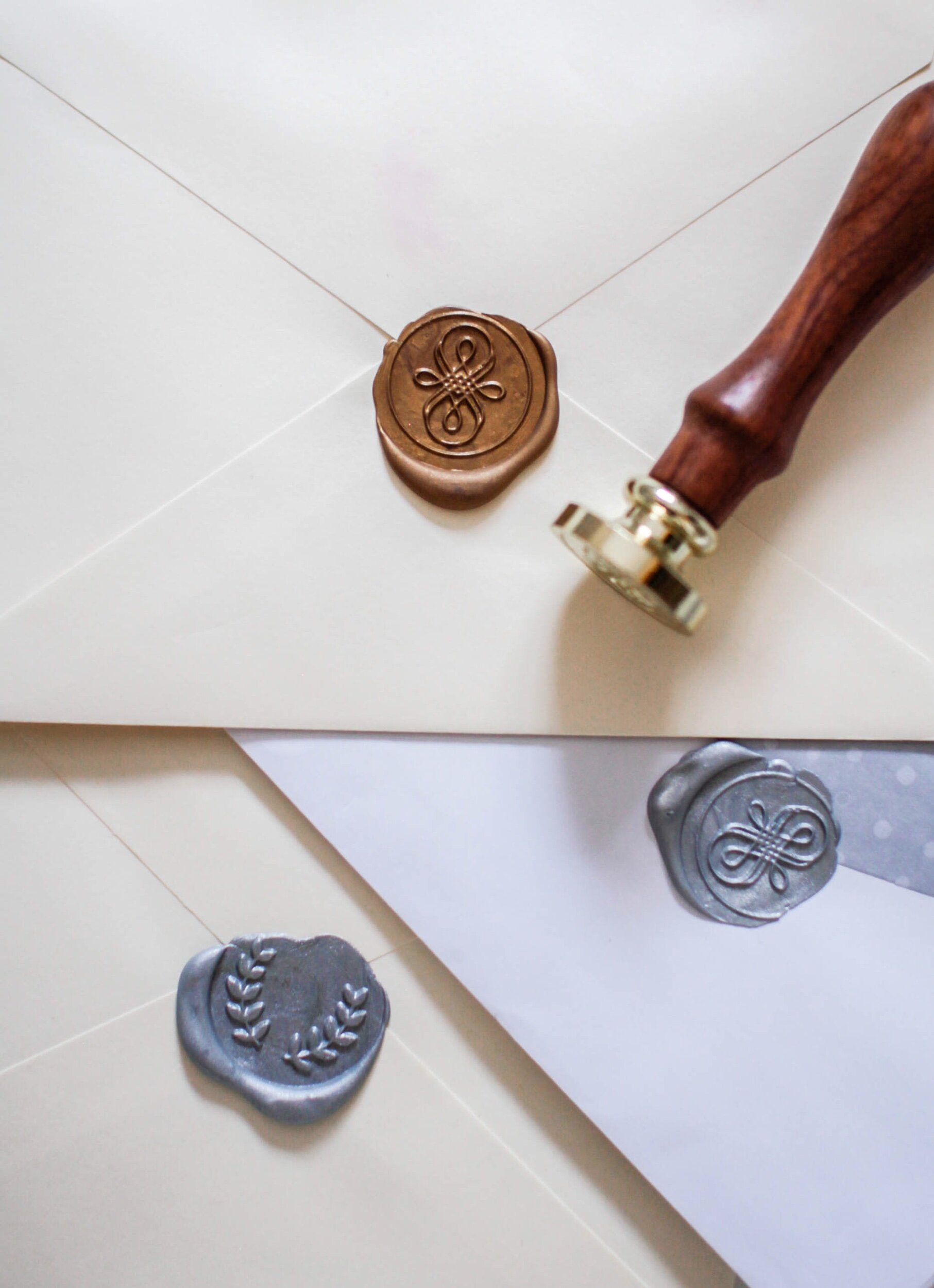 Letter writing craft with wax seal