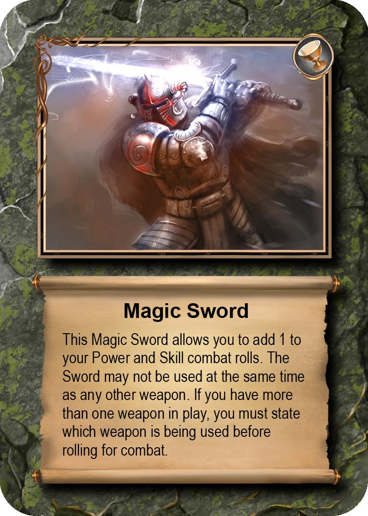 SAMPLE OBJECT  Magic Sword