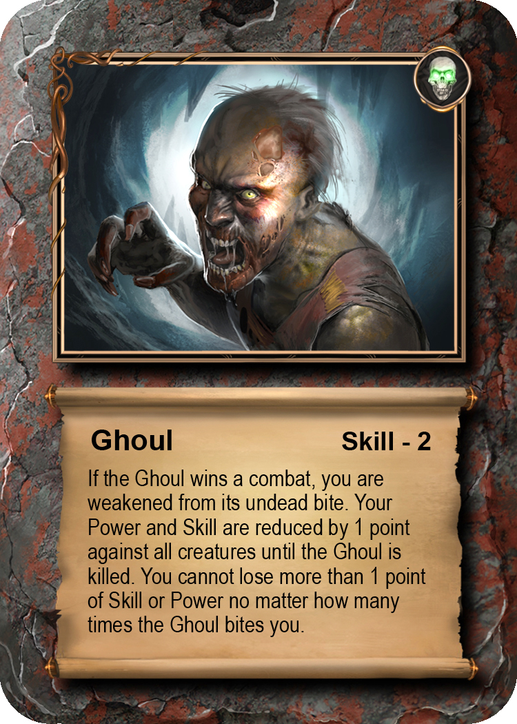 SAMPLE CREATURE  Ghoul