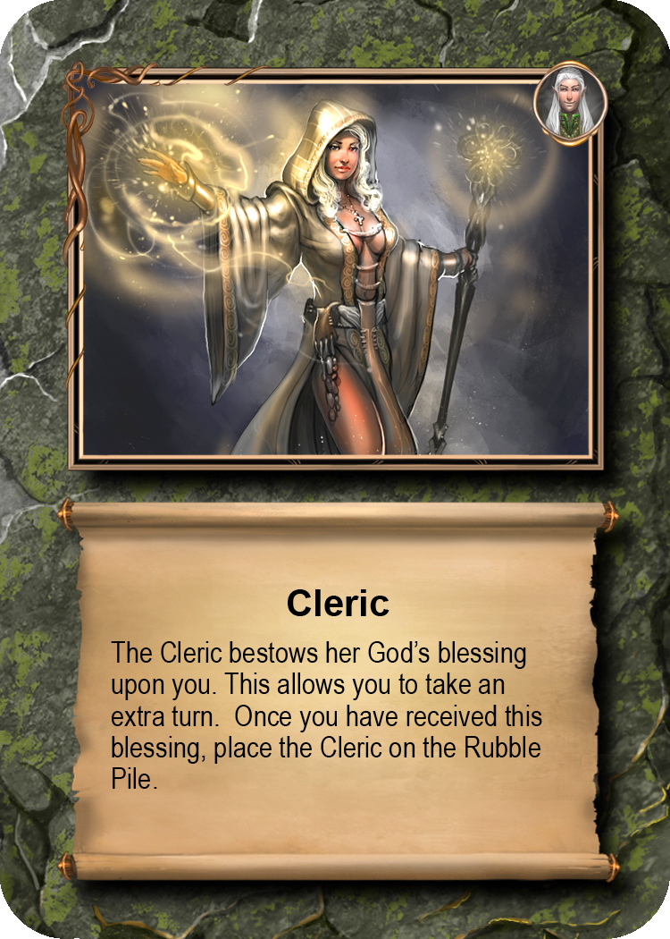 SAMPLE ENCOUNTERS  Cleric