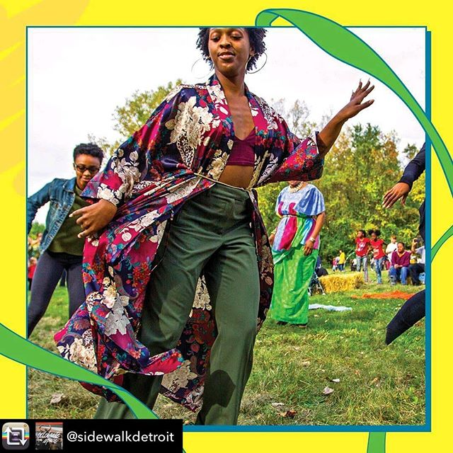 Repost from @sidewalkdetroit - 'African Drum & Dance Class' at #ElizaHowellPark kick off Tuesday, May 7, 6:30pm and runs every Tues. until June 11--  MAKE THEM YOUR TUESDAY ROUTINE!   These dynamic classes are led by the renowned Amen-Ra family @chiamenra. Spanning 3 generations, the Amen-Ra Family studies, teaches and performs, rhythms & dances of the #African 🌍 diaspora. #ElizaHowellPark2019 #SidewalkDetroit #Detroit