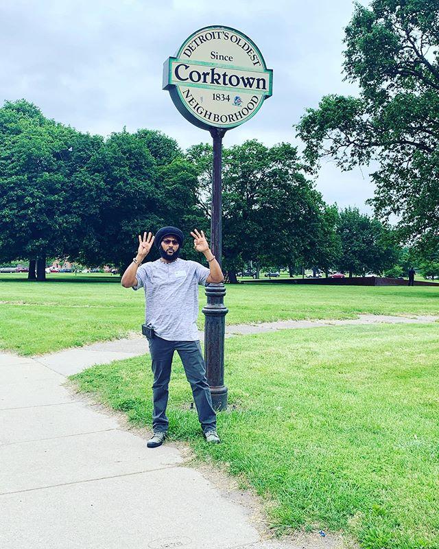 Detroit. Corktown. 40.
