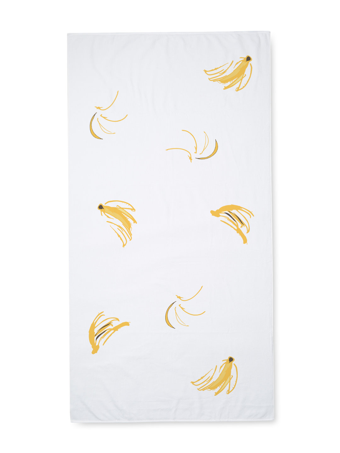 Banana Beach Towel 60x30