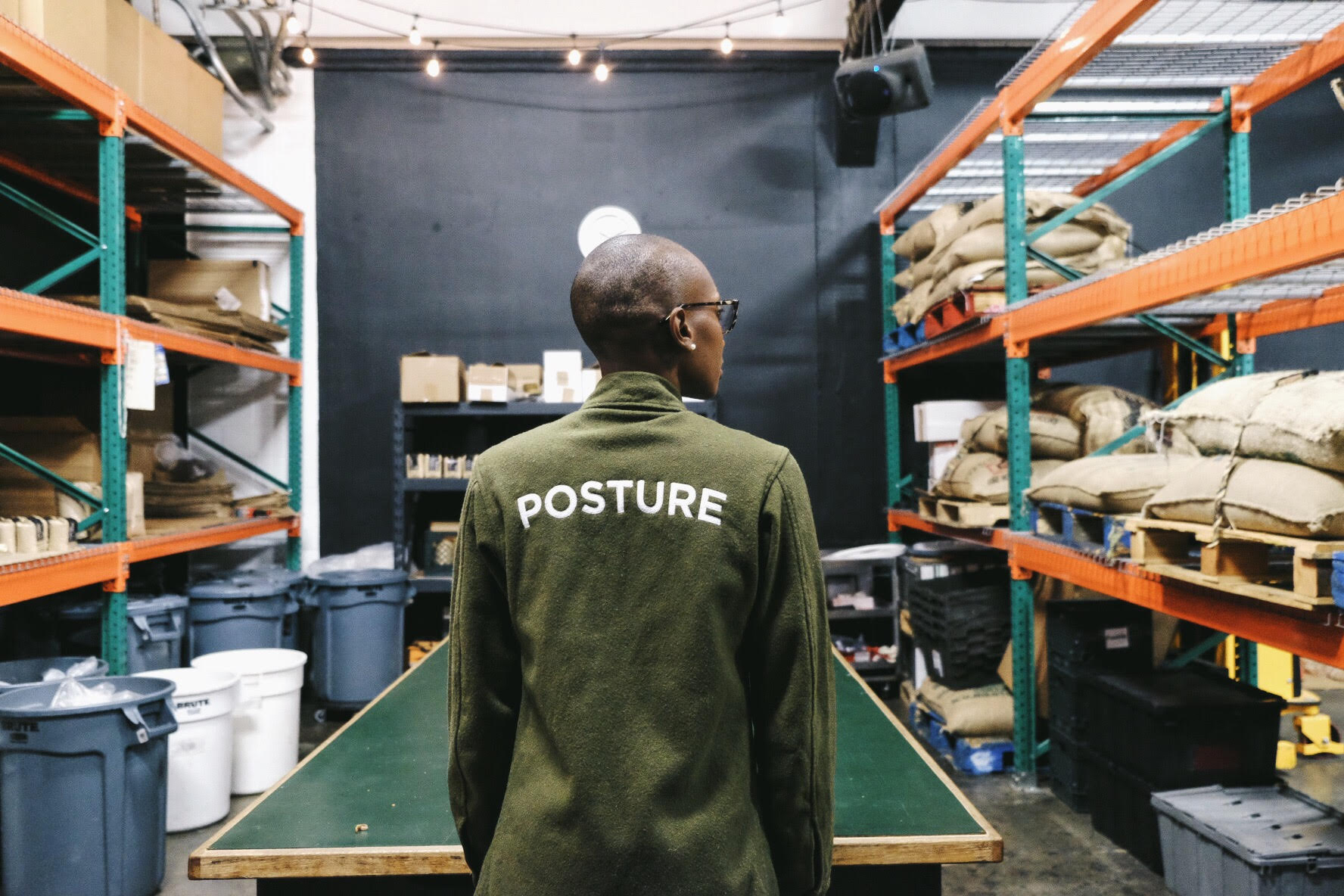 Jacket,    Good Posture      Finchley Road Collection (photo by  Adrian O. Walker )