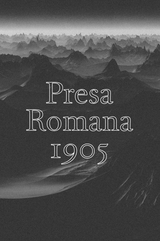 Presa Romana 1905  - MACABEU