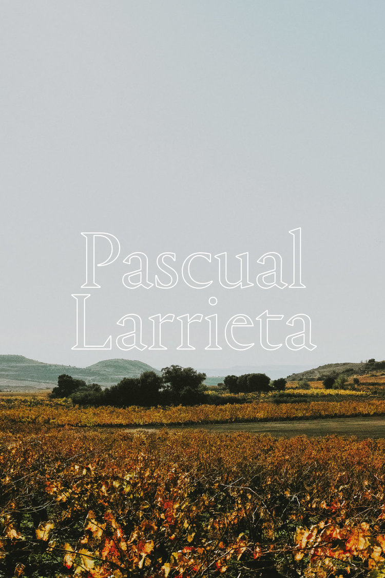 Pascual Larrieta  —  Wines that combine the harmony of nature with the steady hand of honest wine making, resulting in incredibly balanced, yet powerful wines. The serene breeze from Sierra Cantabria and the peaceful landscapes of La Rioja Alavesa are captured in these wines.  - APPELLATION RIOJA ALAVESA