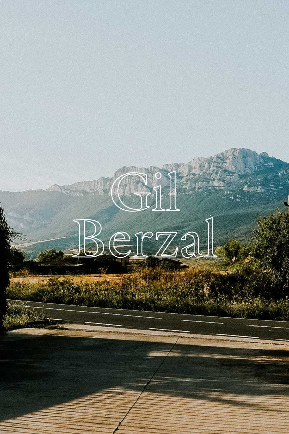"Gil Berzal  —  Love for his land, his family, his animals, his village and his traditions transpires in everything Saúl, the ""vigneron"" at Gil Berzal, does. And that love gets into the deepest compounds of his wines.  - APPELLATION RIOJA ALAVESA"