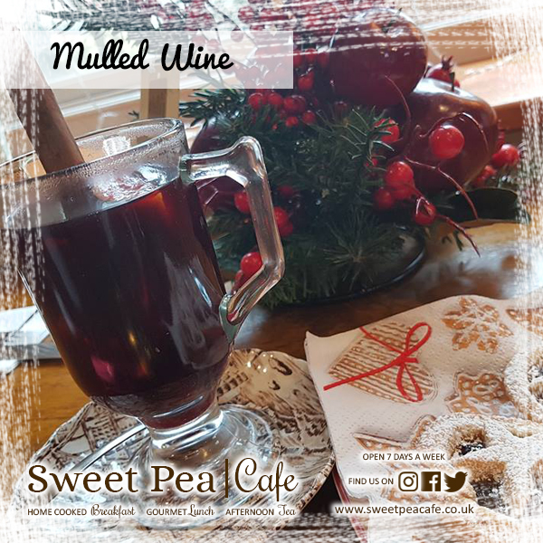 Sweet Pea Cafe Warrenpoint Homemade Mulled Wine