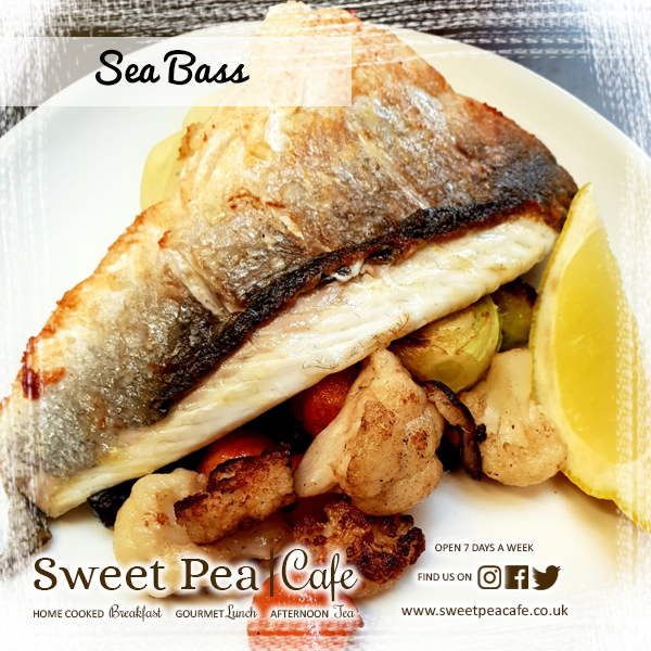 sweet pea cafe warrenpoint sea bass