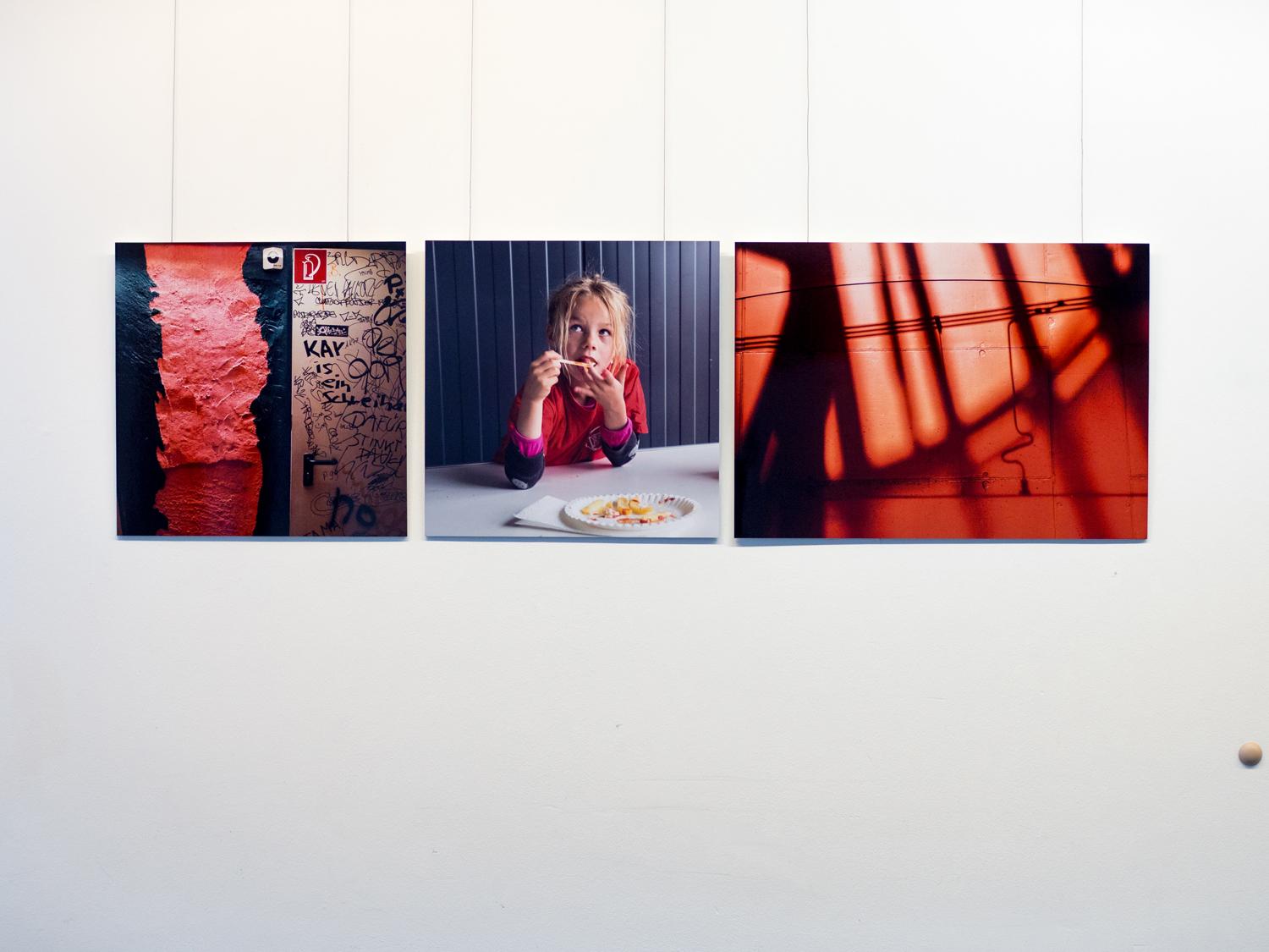 """Aus dem Projekt """"Was Rot ist""""von Christine Meinecke"""