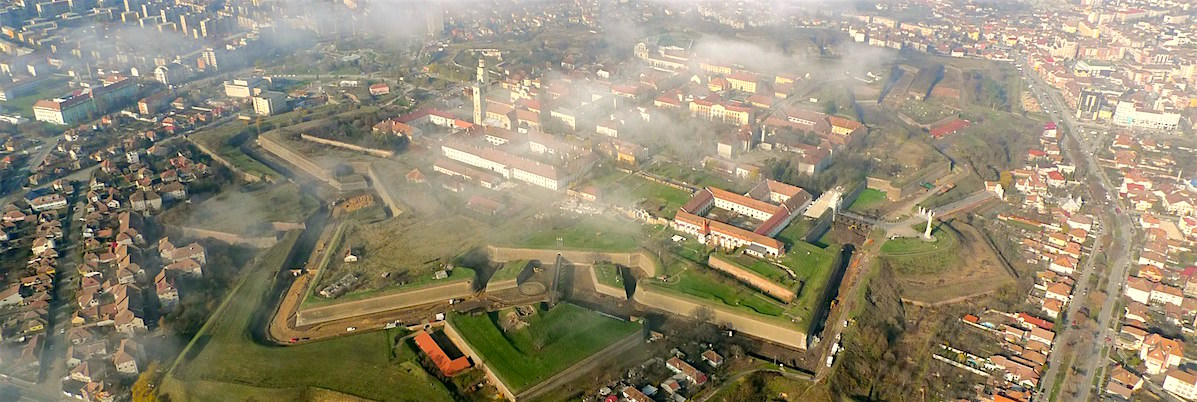 Romania's largest citadel was built by the Austrians centuries ago for defensive purposes