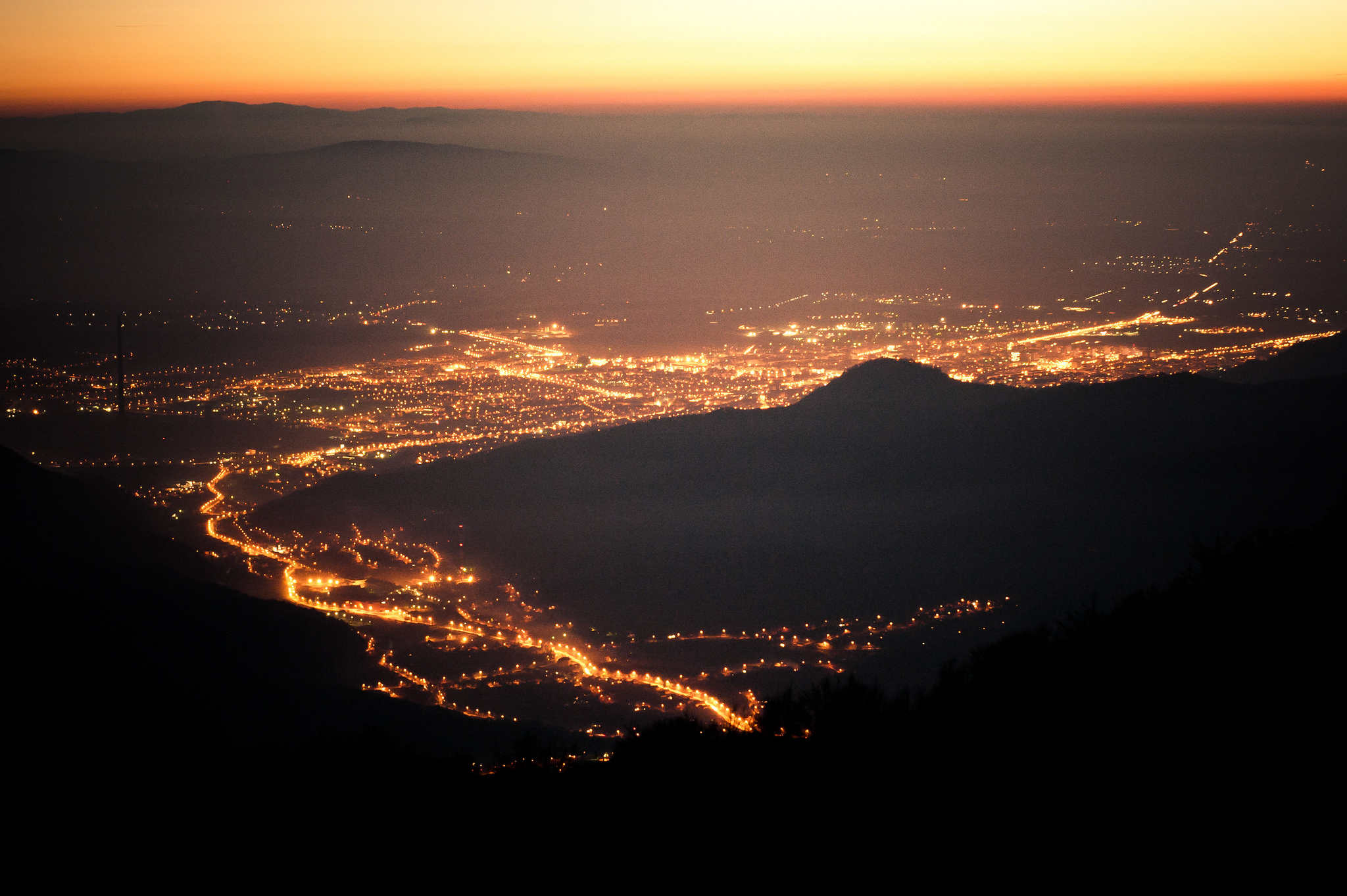 Baia Mare seen from Igniș(copyright:  creative commons )