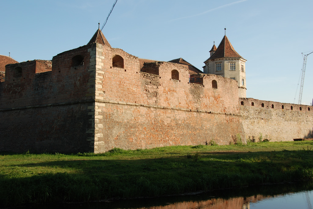 Fagaras.Le château (copyright:  creative commons )
