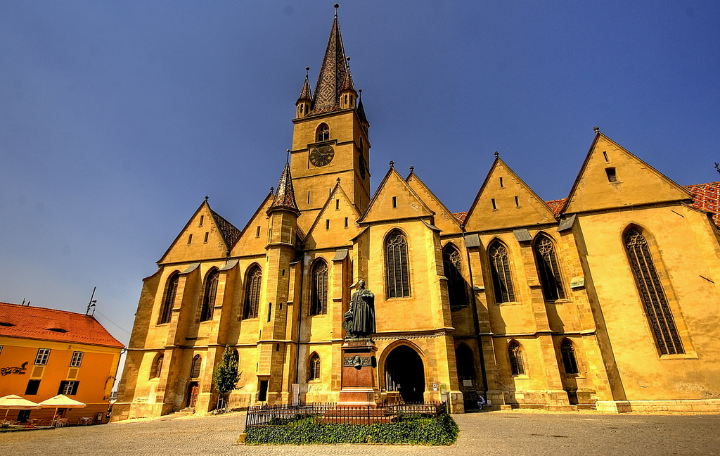 The Evangelical Church of Sibiu (copyright:  creative commons )