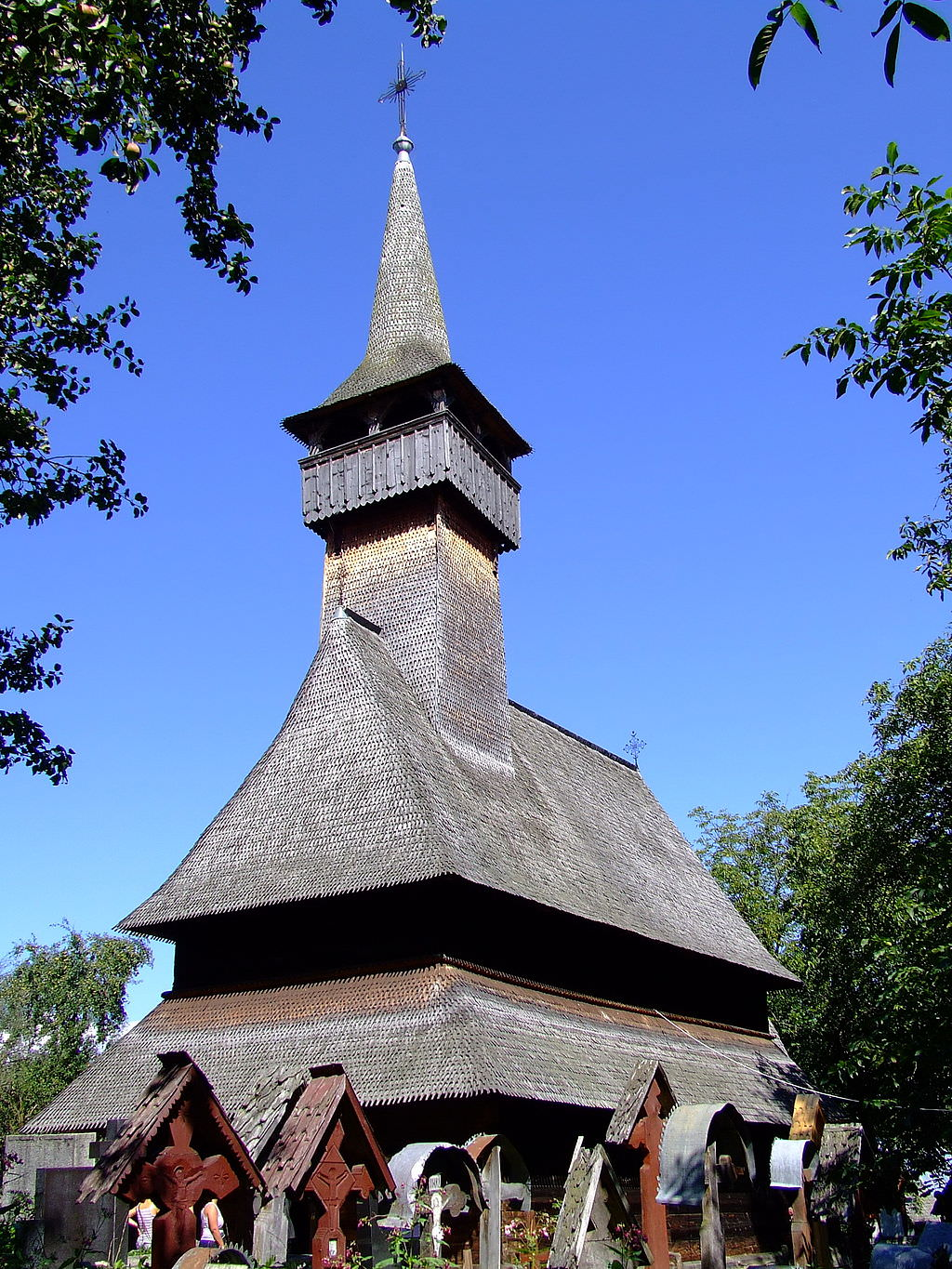 The Wooden Church of Ieud Deal (copyright:  creative commons )