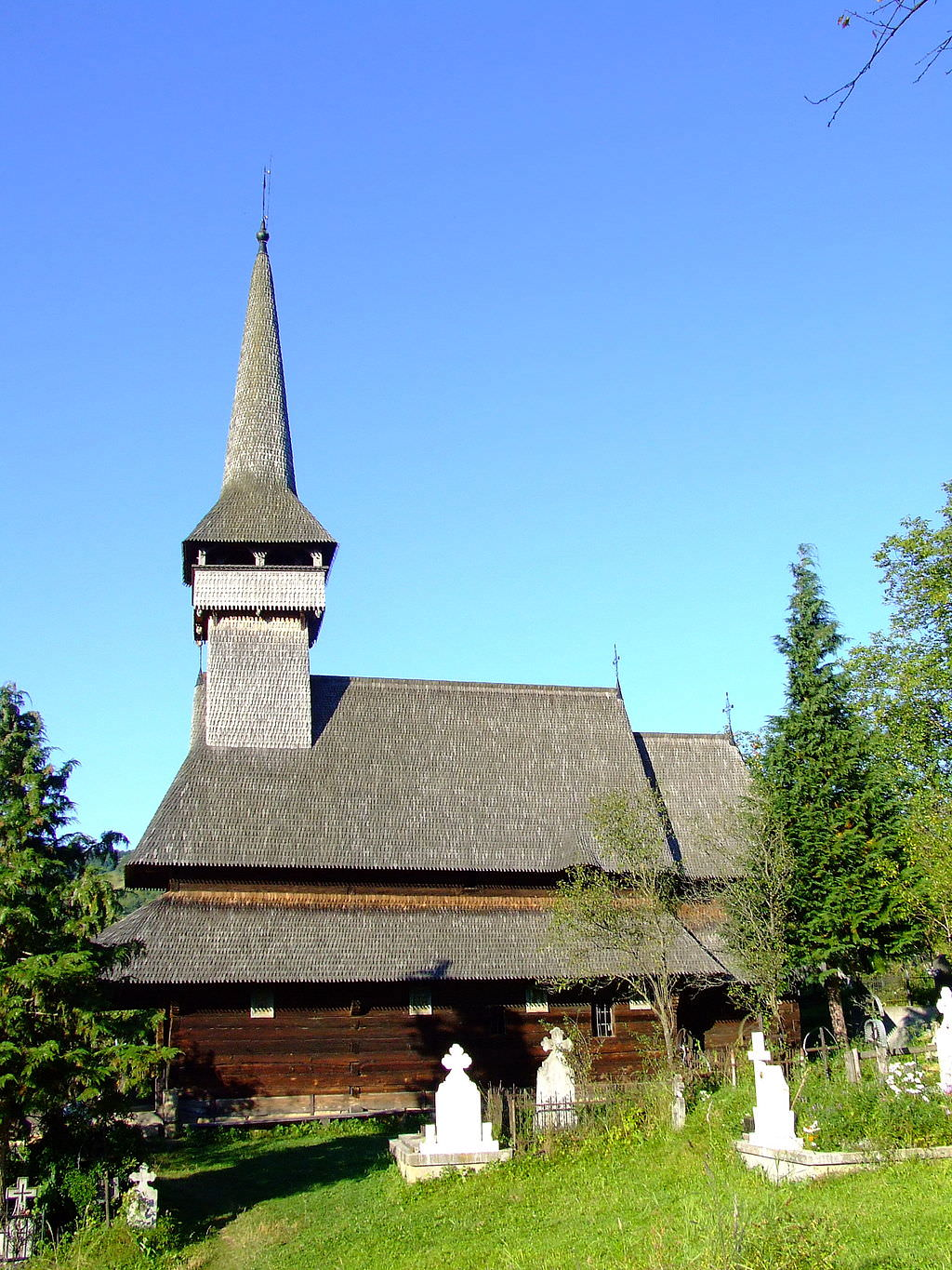 The Poienile Izei Wooden Church (copyright:  creative commons )