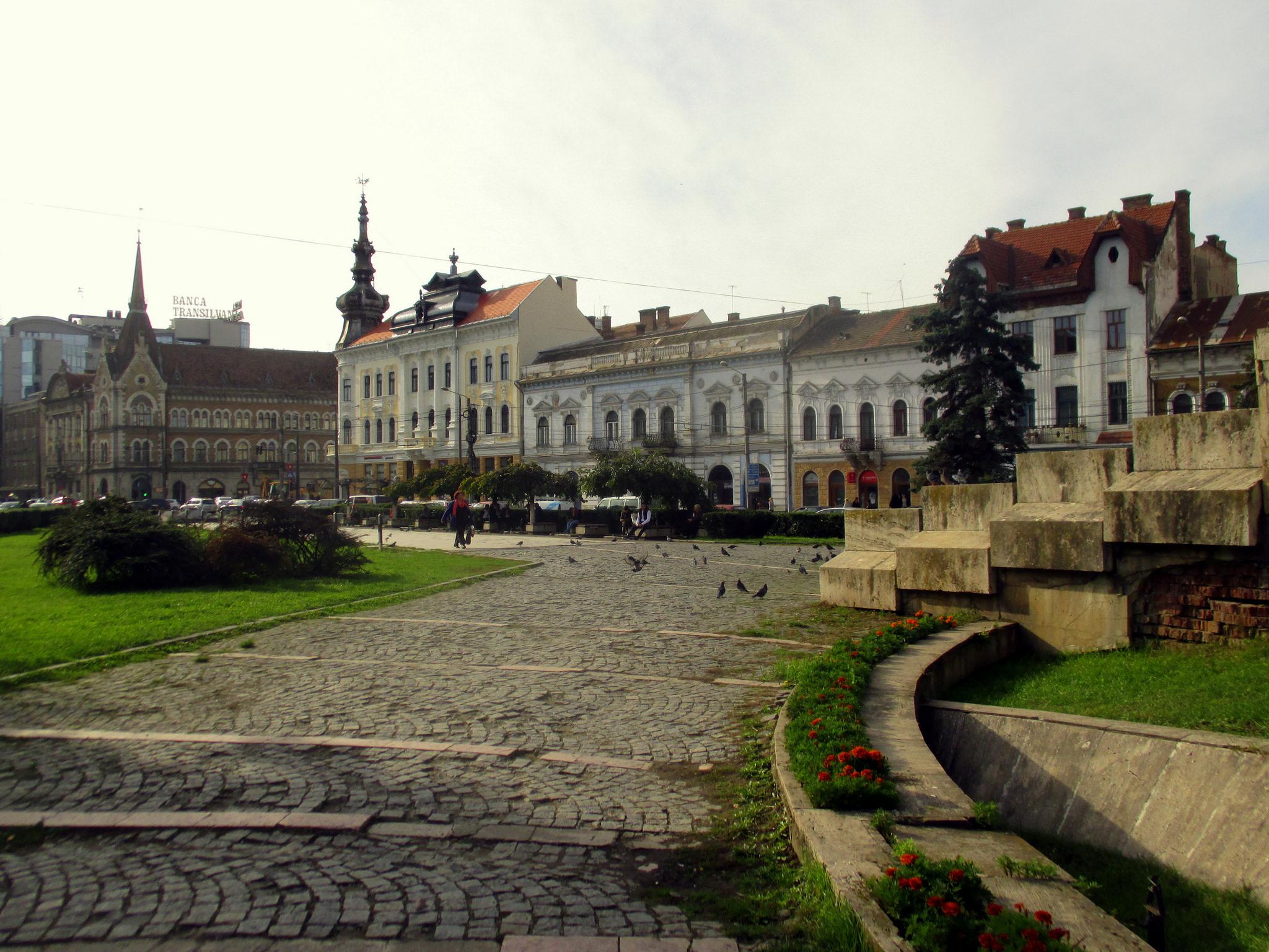 Mihai Viteazu Square, Cluj-Napoca (copyright:  creative commons )