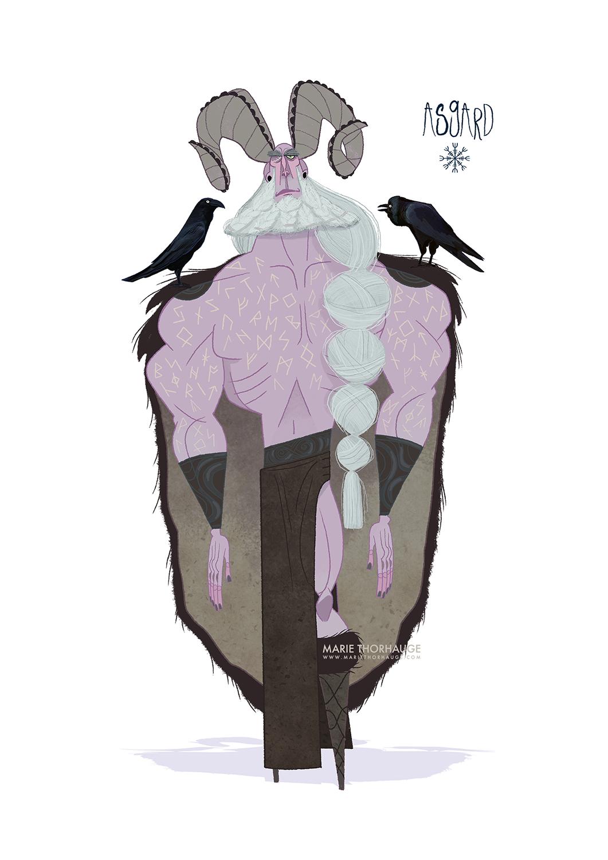 2015_Marie-Thorhauge_Asgard_Odin.png