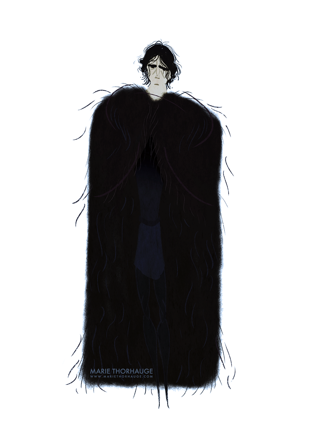 2014_Marie-Thorhauge_GOT_Jon-Snow.png