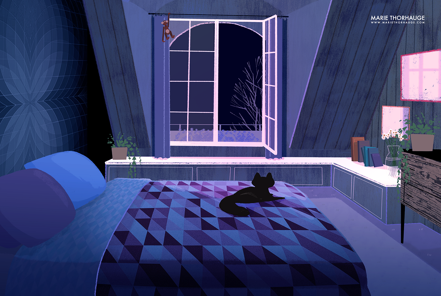 2013_Marie-Thorhauge_bedroom-night.png