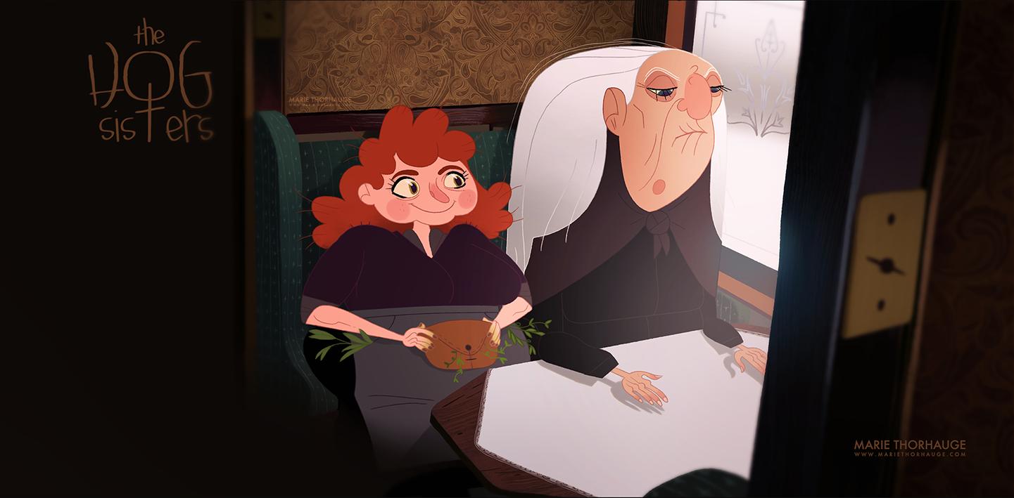 2016_Marie-Thorhauge_The-Hog-Sisters_Train-Ride-2.png