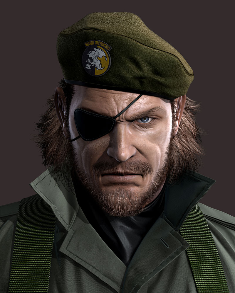 Big Boss / Venom Snake / Sold Snake - Metal Gear Series
