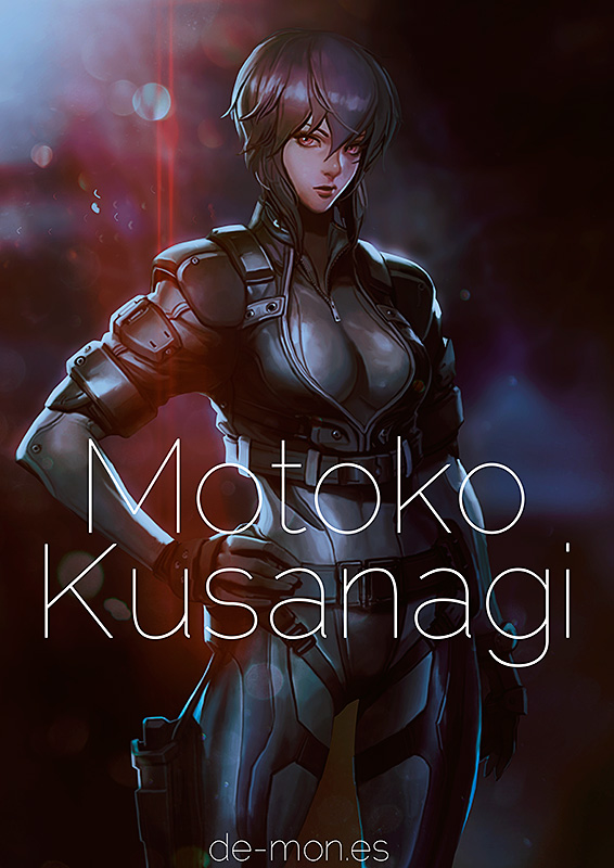 Motoko Kusinagi - Ghost in the Shell