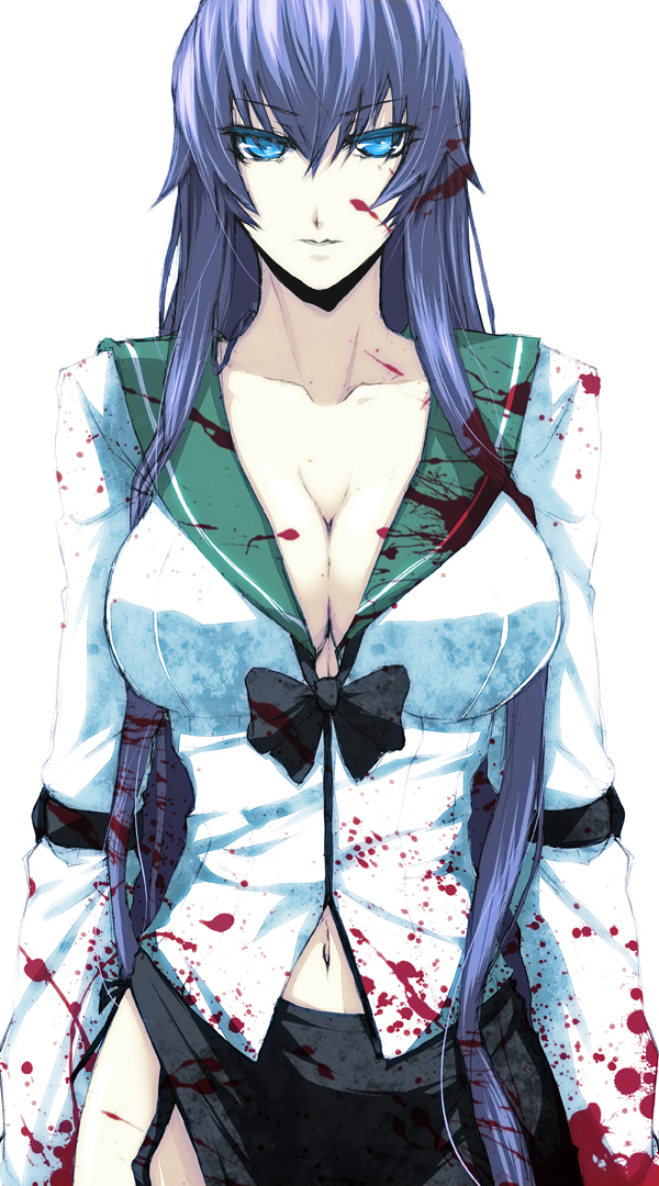 Saeko Busuijma - Highschool of the Dead