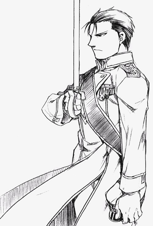 Roy Mustang - Full Metal Alchemist Brotherhood