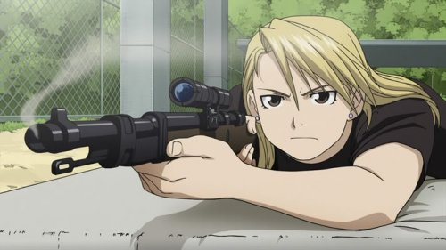 Riza Hawkeye - Full Metal Alchemist Brotherhood