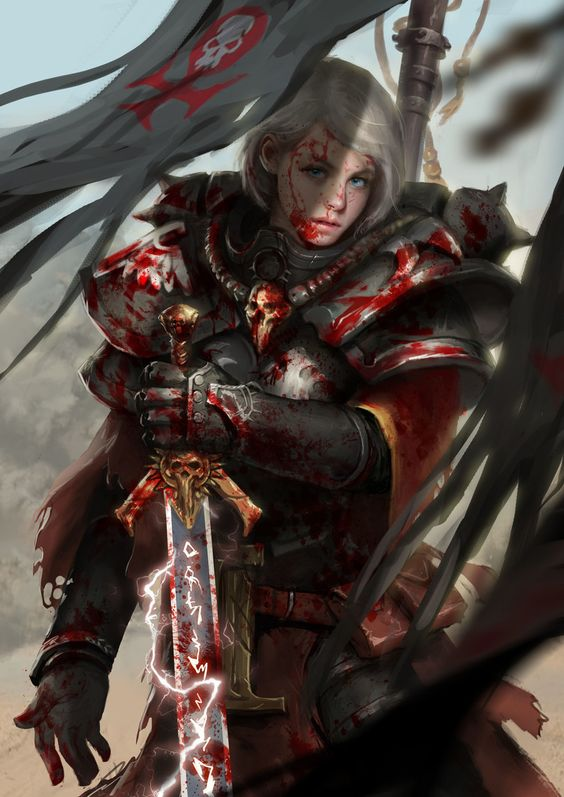 """Daughters of the Emperor"" - 2nd Legion (Female Space Marine Legion)"