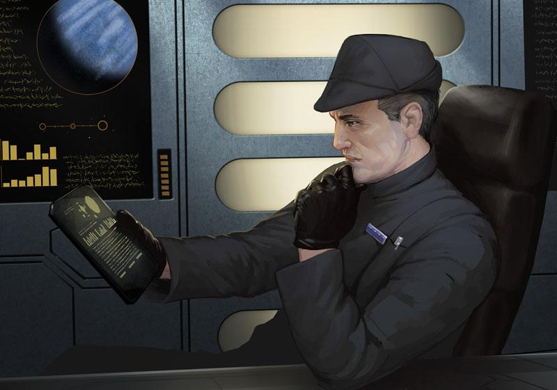 Domidar Manreso - Male Imperial Officer