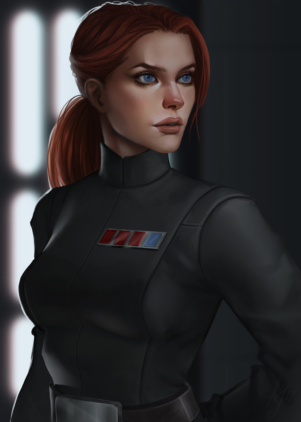 Kaylann Vicktate - Female Imperial Officer