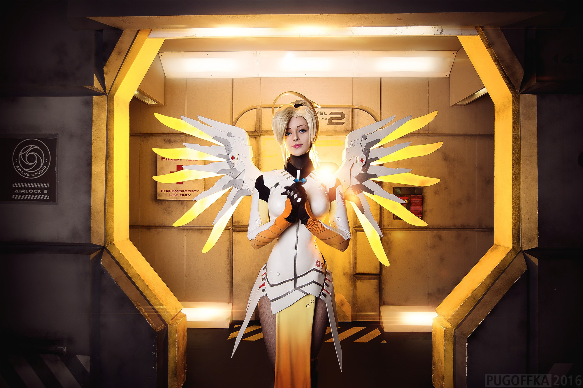 "Angela ""Mercy"" Ziegler - Overwatch"
