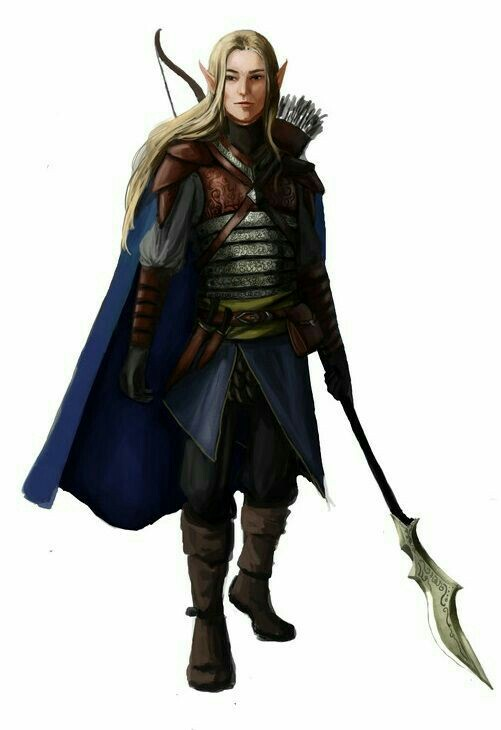 An Elven female outcast, hunting and surviving outside of the Reservations