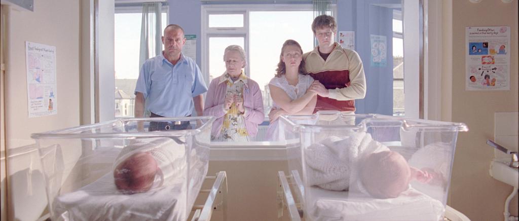 8 Dad (David Kennedy), Nan (Ann Emery), Lilya's mum (Kitty Myers), Lilya's dad (GlennTillin) with baby Sam and Lilya.png