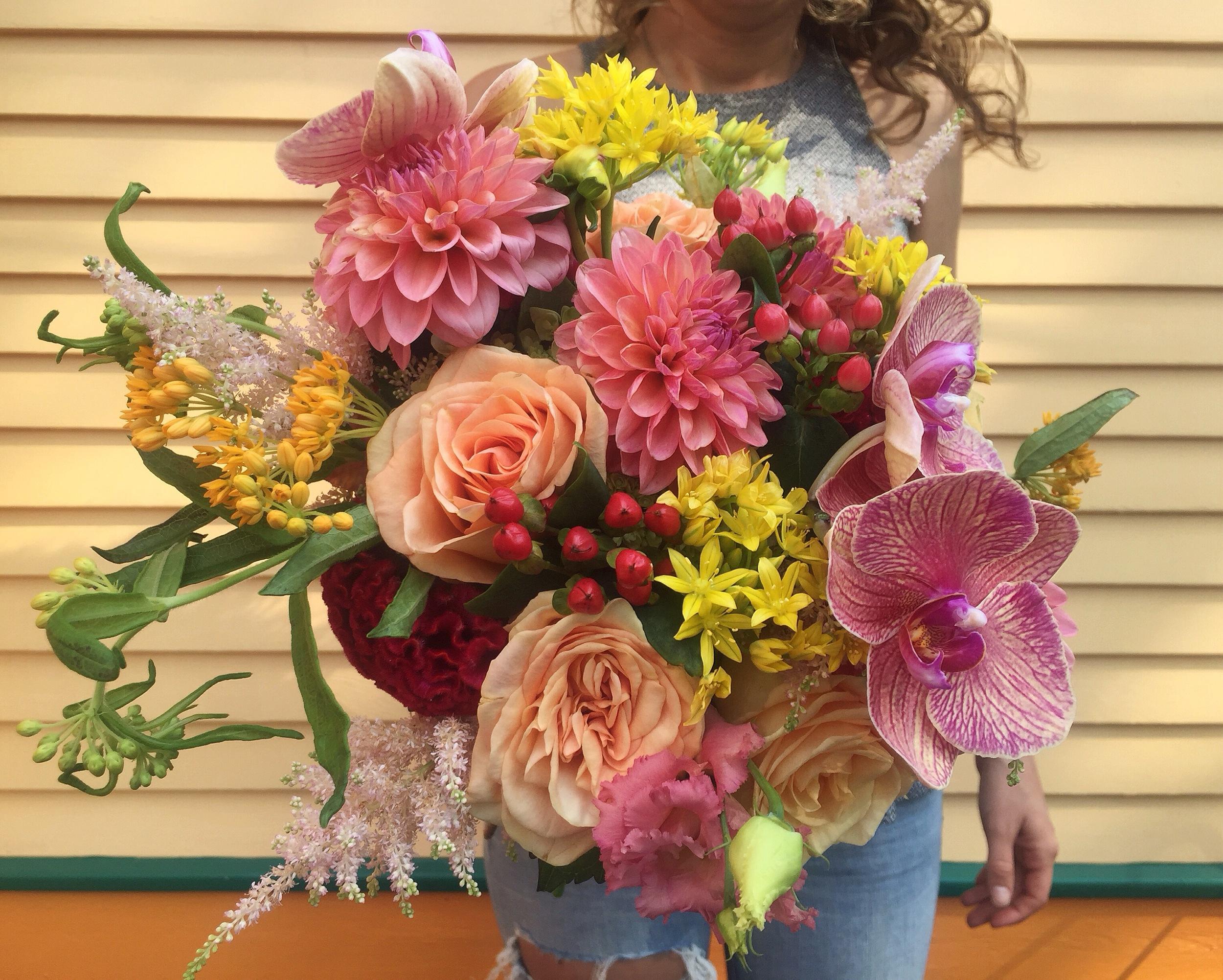 summer bouquet, corals.JPG
