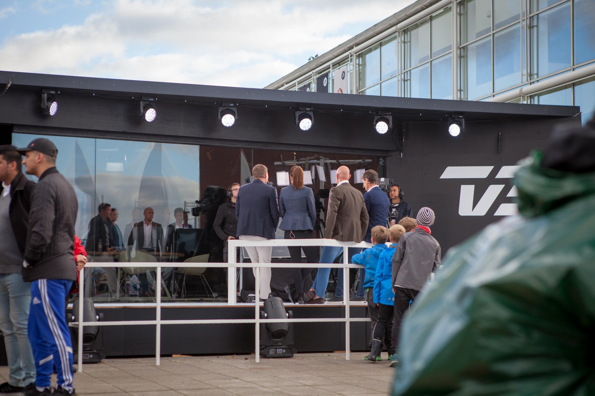 Xsided spil ved Sommerbold i Aarhus i samarbejde med TV2.
