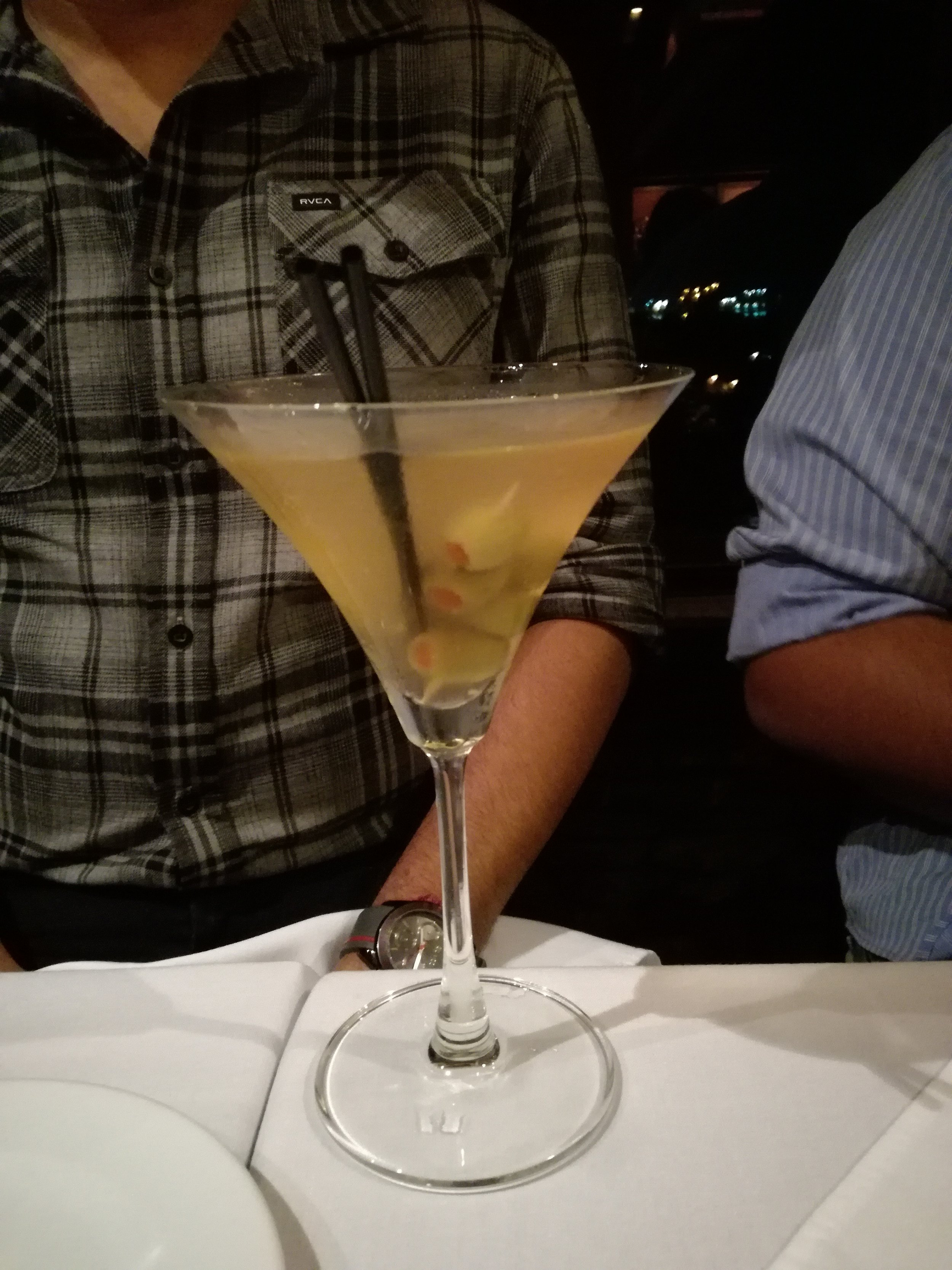 Dirrtyy Martini - TT$45 before Service Charge and VAT.