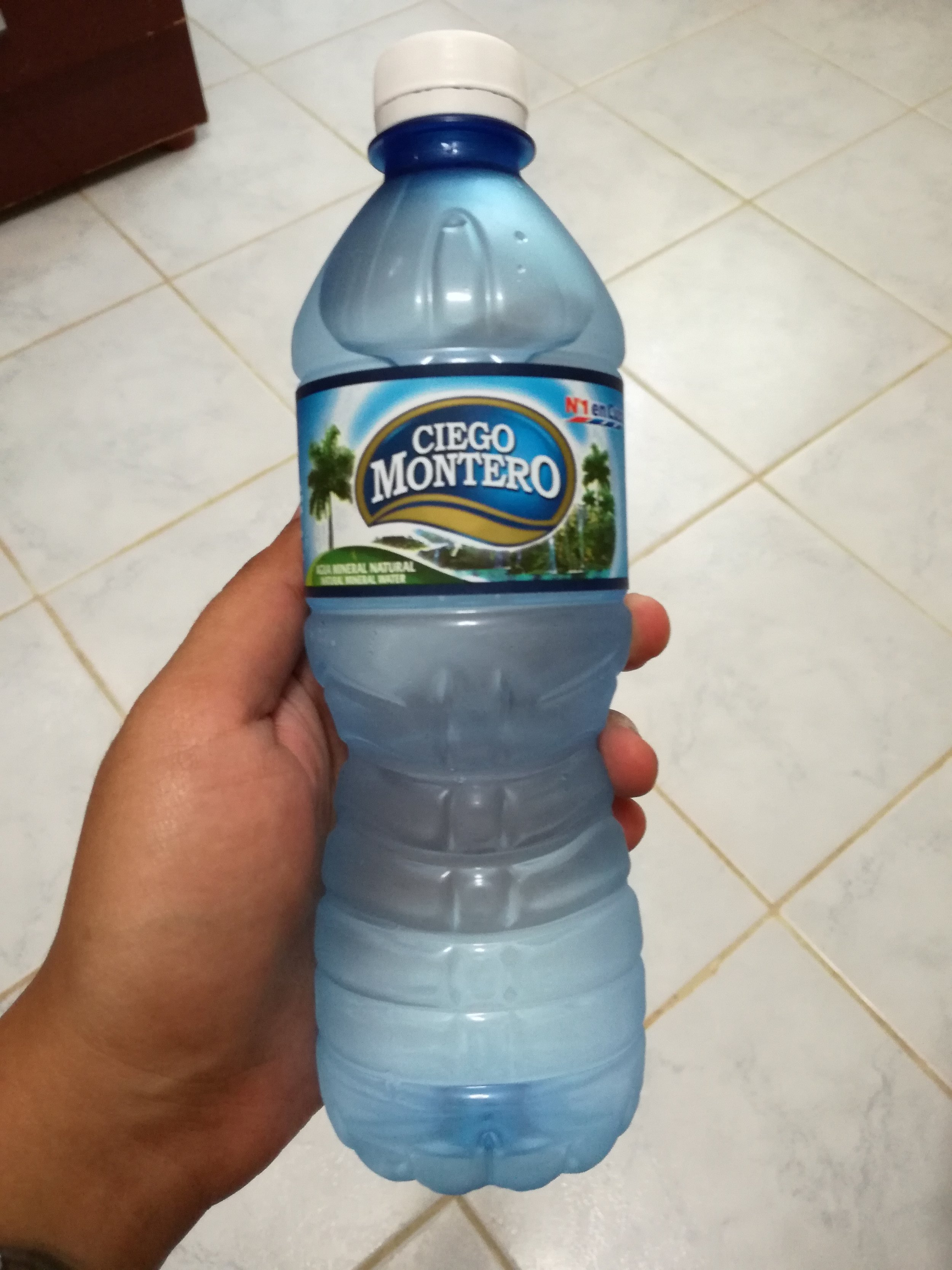 This is the only brand of water you'll see, which is government owned.