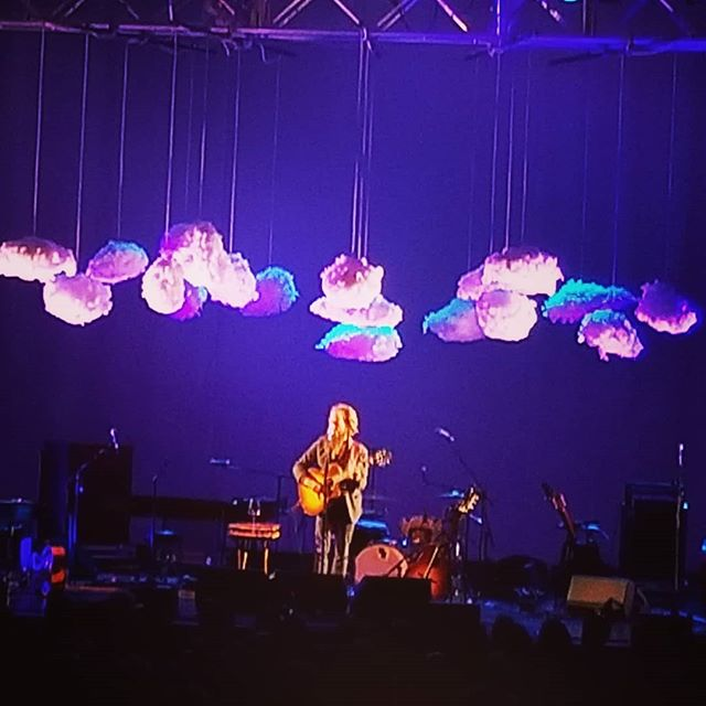 I like when bands I like play at venues 5 minutes from my house.  Iron and Wine @keswicktheatre