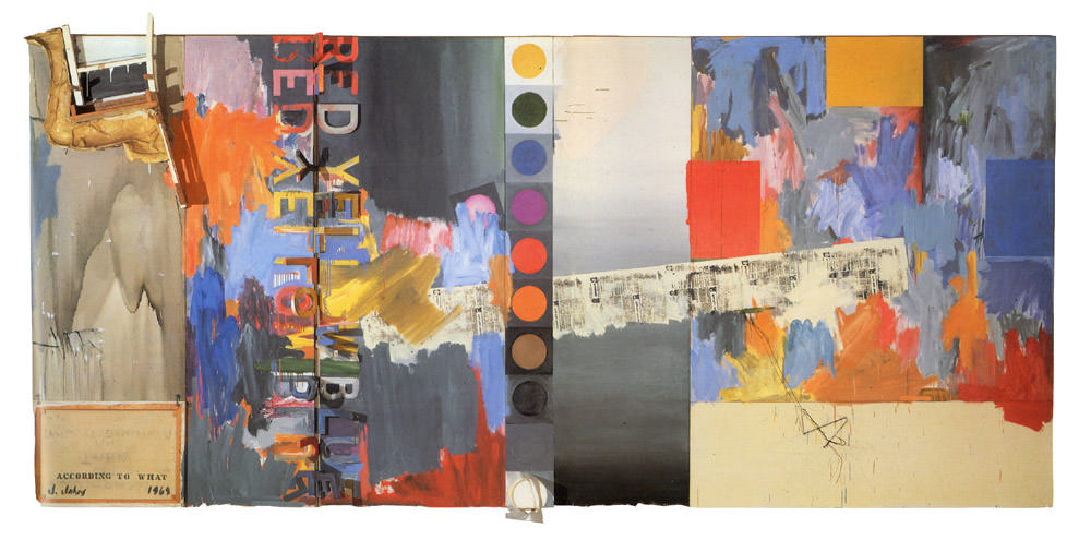 Jasper Johns, According to What, 1964