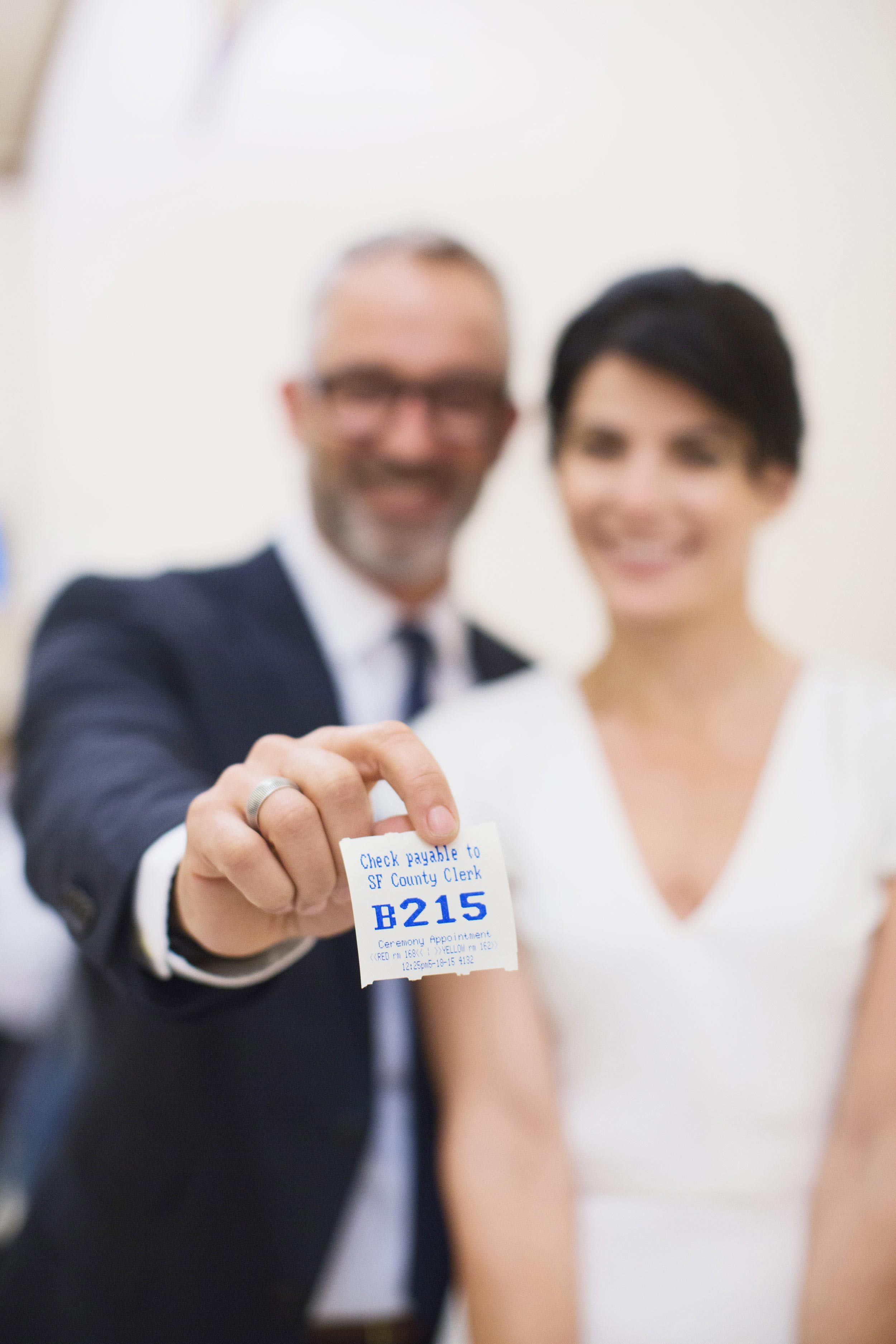 san francisco city hall wedding ticker tape number