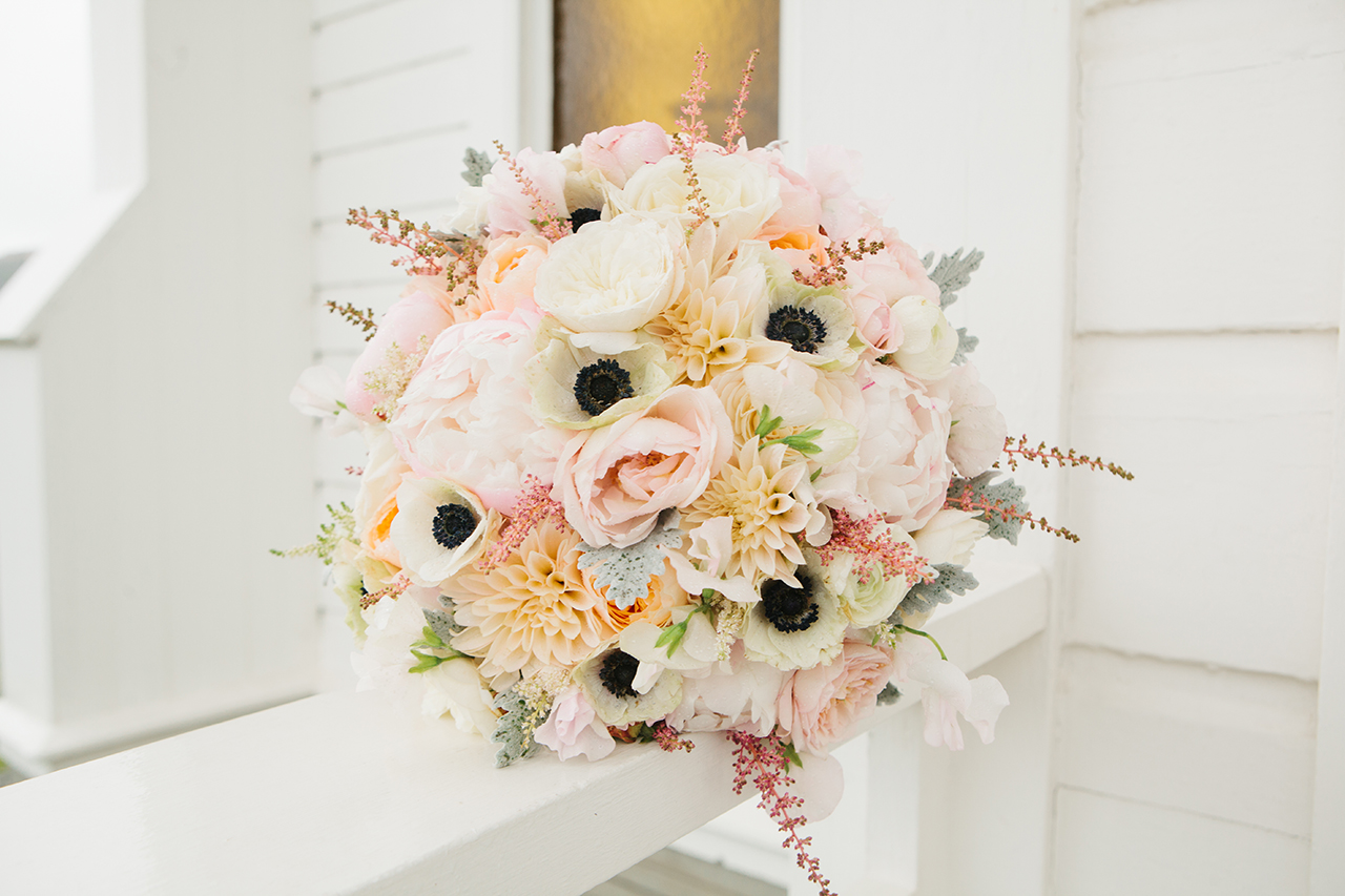 Bridal bouquet from Green Petal Designs