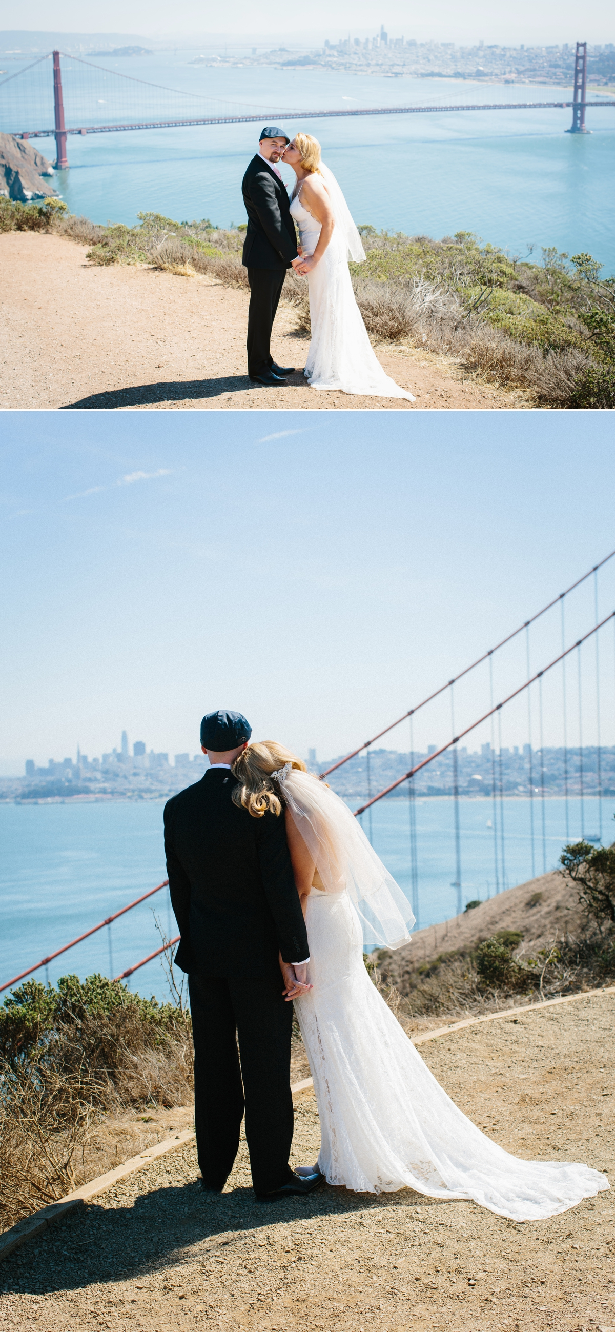 A quick stop in the Marin Headlands for jaw-dropping views of the Bay, the Golden Gate, and San Francisco's skyline!